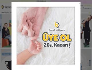 bebekdukkanim.com screenshot