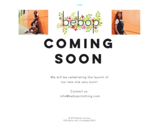bebopjeans.com screenshot