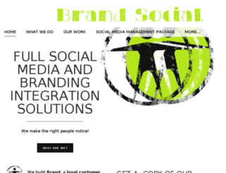 bebrandsocial.com screenshot
