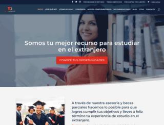 becadesafios.com screenshot