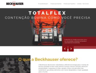 beckhauser.com.br screenshot