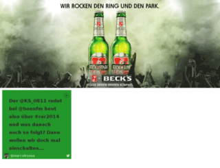 becks.ringrocker.com screenshot