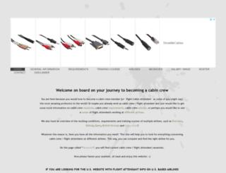 become-cabincrew.com screenshot