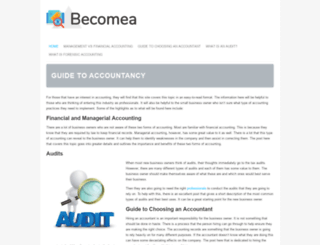 becomea.ca screenshot