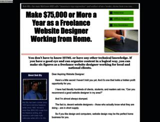 becomeasuccessfulwebdesigner.com screenshot