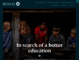 bedales.org.uk screenshot