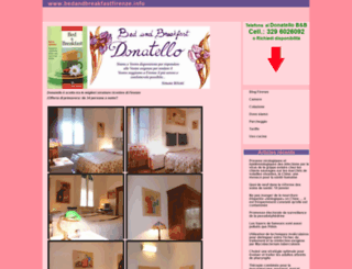 bedandbreakfastfirenze.info screenshot