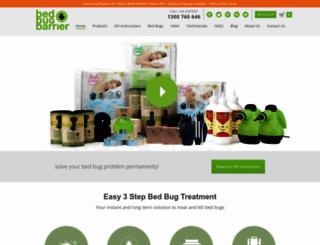 bedbugbarrier.com.au screenshot