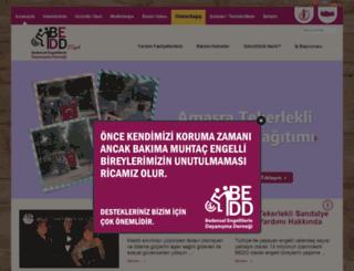 bedd.org.tr screenshot