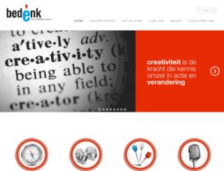 bedenk.be screenshot