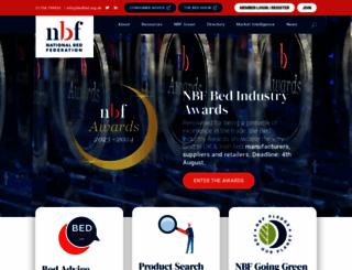 bedfed.org.uk screenshot