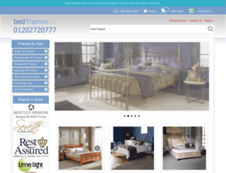 bedframesuk.co.uk screenshot