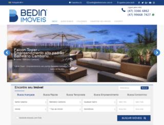 bedinimoveis.com.br screenshot