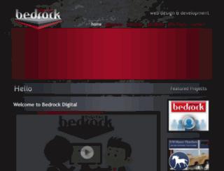 bedrockdigital.co.uk screenshot