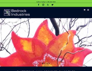 bedrockmosaicglass.com screenshot
