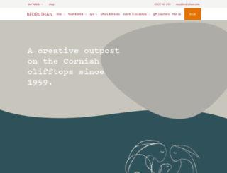 bedruthan.com screenshot