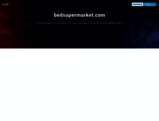 bedsupermarket.com screenshot