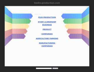 beebs-production.com screenshot