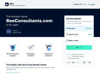 beeconsultants.com screenshot