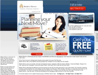 beehivemovers.com screenshot