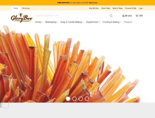 beekeeping.glorybee.com screenshot