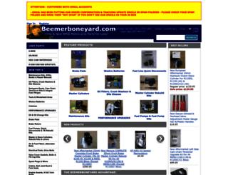 beemerboneyard.com screenshot