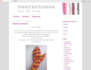 beerentoene.blogspot.com screenshot