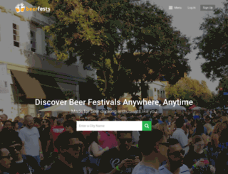 beerfestivals.org screenshot