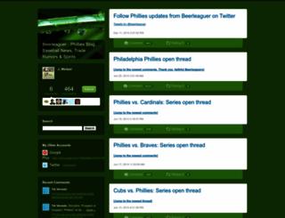 beerleaguer.typepad.com screenshot