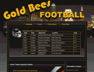 beesfootball.com screenshot