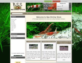 beeshrimp.co.uk screenshot