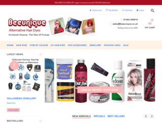 beeunique.co.uk screenshot