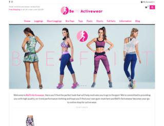 befitactivewear.com screenshot