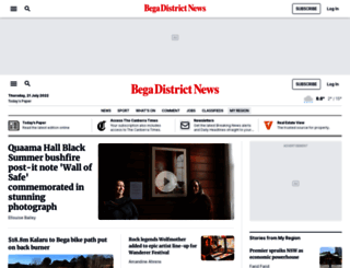 begadistrictnews.com.au screenshot