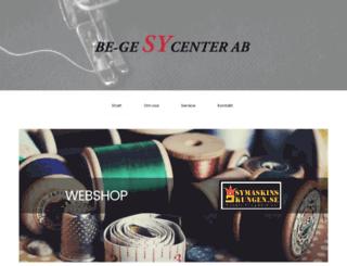 begesycenter.se screenshot
