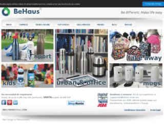 behaus-store.com screenshot