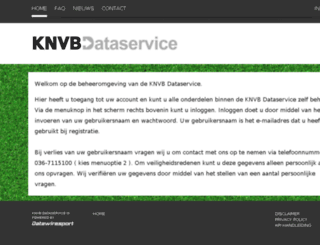 beheer.knvbdataservice.nl screenshot