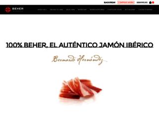 beher.com screenshot