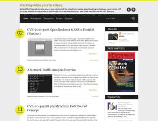 behindthefirewalls.com screenshot