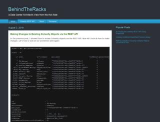 behindtheracks.com screenshot