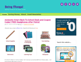 beingfroogal.com screenshot