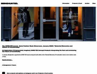 beinghunted.com screenshot