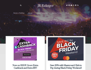 beingjrridinger.com screenshot
