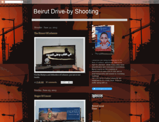 beirutdriveby.blogspot.co.uk screenshot