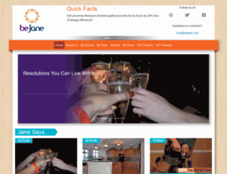 bejane.com screenshot