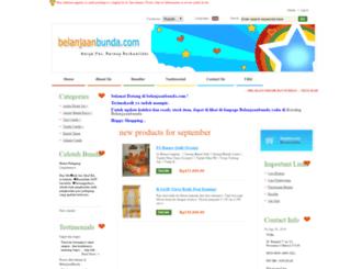 belanjaanbunda.com screenshot