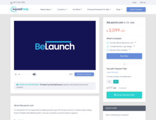 belaunch.com screenshot