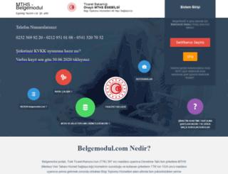 belgemodul.com screenshot