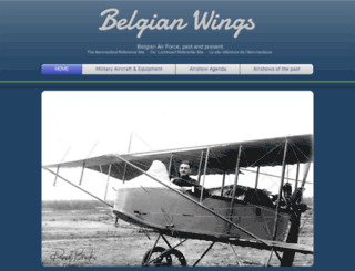 belgian-wings.be screenshot