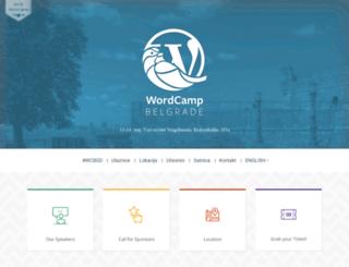 belgrade.wordcamp.org screenshot
